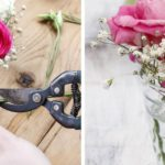 Pofonegyszerű esküvői asztaldíszek – virágokkal házilag
